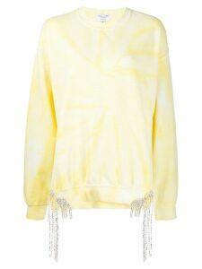 Collina Strada tie dye sweatshirt - Yellow