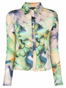 CALLIPYGIAN floral print shirt - Multicolour