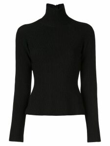 Carolina Herrera ribbed high-neck sweater - Black