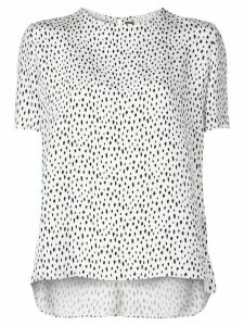 Adam Lippes all-over print T-shirt - White