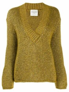 Forte Forte Oro chunky knit jumper - Gold