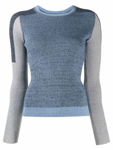 Rag & Bone colour-block sweater - Blue
