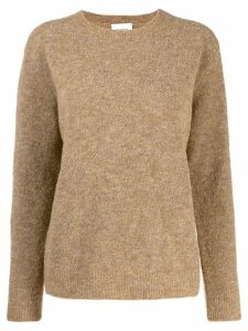 Dondup round neck jumper - Brown