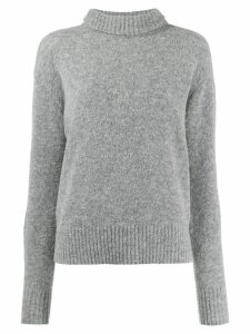 Dondup turtle neck jumper - Grey