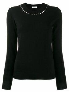 P.A.R.O.S.H. stud embellished jumper - Black