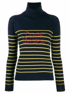 Giada Benincasa striped jumper - Blue