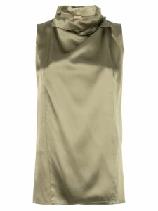 Adam Lippes draped tank top - Green