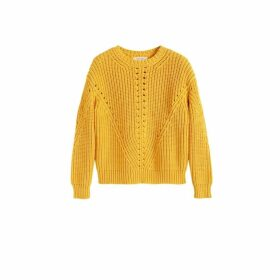 Chinti & Parker Yellow Le Soir Crew Neck Sweater