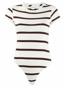 RE/DONE striped body - White
