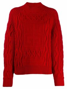 Givenchy 4G sweater - Red