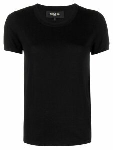 Paule Ka knitted T-shirt - Black