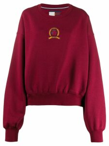 Tommy Hilfiger embroidered logo sweatshirt
