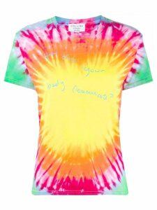 Collina Strada tie-dye print T-shirt - PINK
