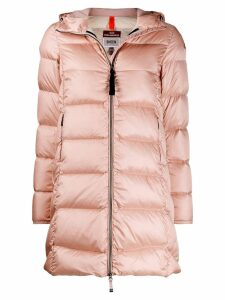 Parajumpers hooded padded jacket - PINK