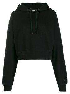 Reebok x Victoria Beckham cropped hoodie - Black