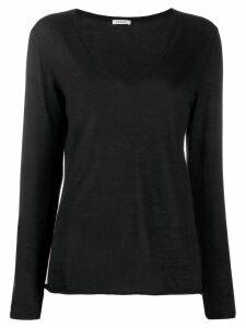 P.A.R.O.S.H. cashmere V-neck jumper - Black