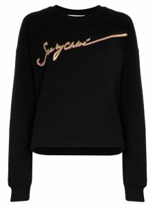 See By Chloé signature logo sweatshirt - Black