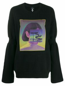 Marcelo Burlon County Of Milan Carousel Square sweatshirt - Black