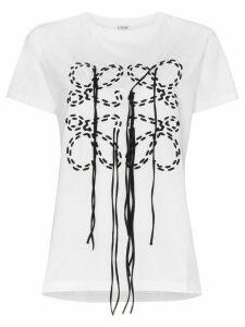 Loewe anagram logo T-shirt - White
