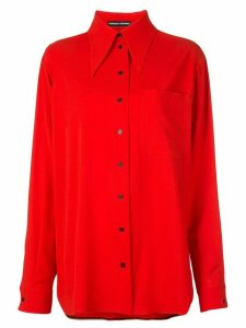 Kwaidan Editions oversized shirt - Red