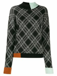 Antonio Marras block color jumper - Black