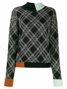 Antonio Marras block color jumper - Black