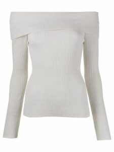 P.A.R.O.S.H. off the shoulder jumper - NEUTRALS
