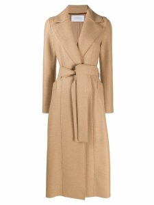 Harris Wharf London belted trench coat - Neutrals