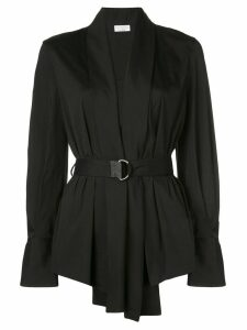 Brunello Cucinelli belted top - Black