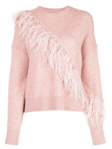 Cinq A Sept Merritt sweatshirt - PINK