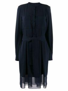 Talbot Runhof belted short dress - Blue