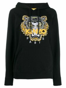 Kenzo embroidered Tiger hoodie - Black