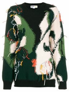 Stella McCartney All Together Now capsule loose thread jumper - Black