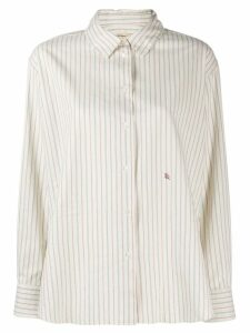 Bellerose striped shirt - NEUTRALS