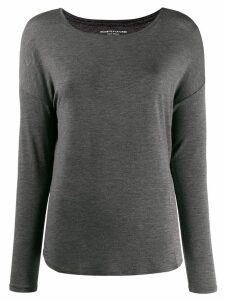 Majestic Filatures round neck jumper - Grey