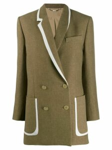 Fendi straight-cut jacket - Brown