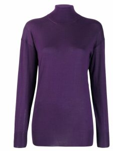 Tom Ford turtle neck top - Purple