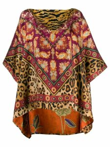 Etro printed tunic - Yellow