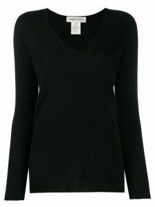 Lamberto Losani cashmere V-neck jumper - Black