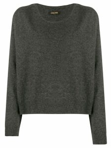 Max & Moi loose-fit cashmere sweater - Grey