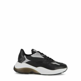 Axel Arigato Swipe Black Leather Sneakers