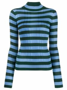 Christian Wijnants turtle neck top - Blue