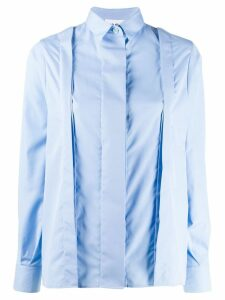 Each X Other Re-sculpted poplin shirt - Blue