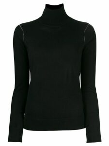 Joseph turtle neck knitted sweater - Black