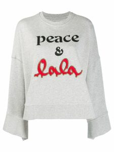 Lala Berlin logo sweatshirt - Grey