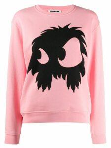 McQ Alexander McQueen logo print sweatshirt - PINK