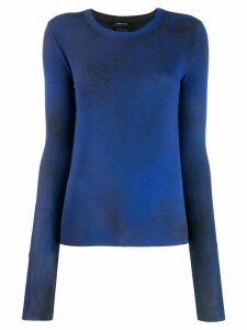 Avant Toi ribbed jumper - Blue