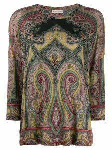 Etro paisley sweatshirt - NEUTRALS