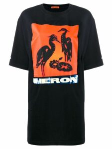 Heron Preston graphic print T-shirt - Black
