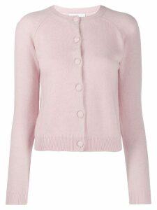 Alexandra Golovanoff cashmere button cardigan - Pink